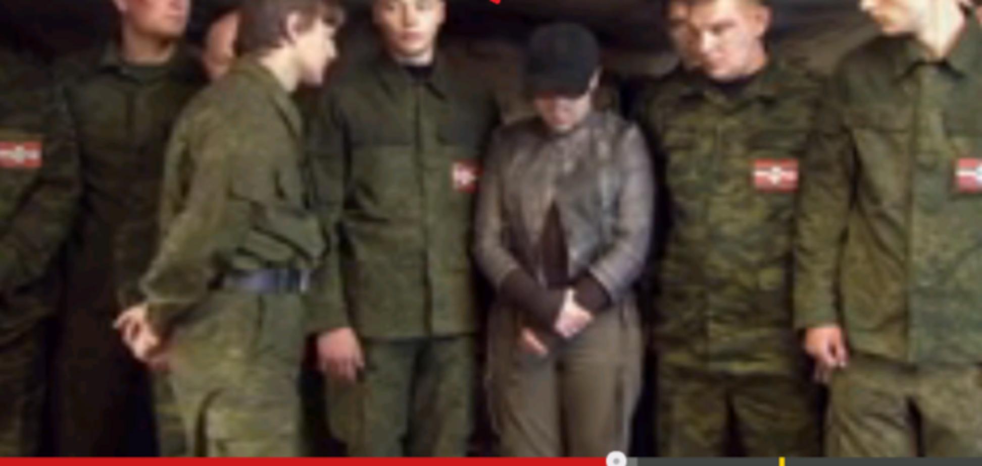 Вошел в роль. Садист-боевик 'ЛНР' Мильчаков играл нациста в российском сериале: фотофакт