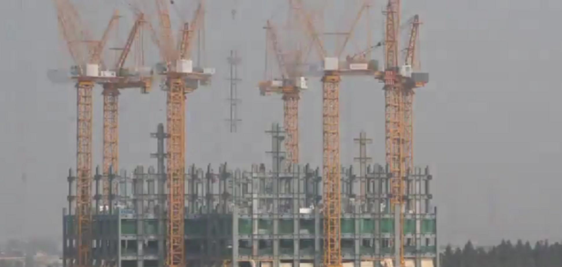 В Китае построили небоскреб за 19 дней: опубликовано видео