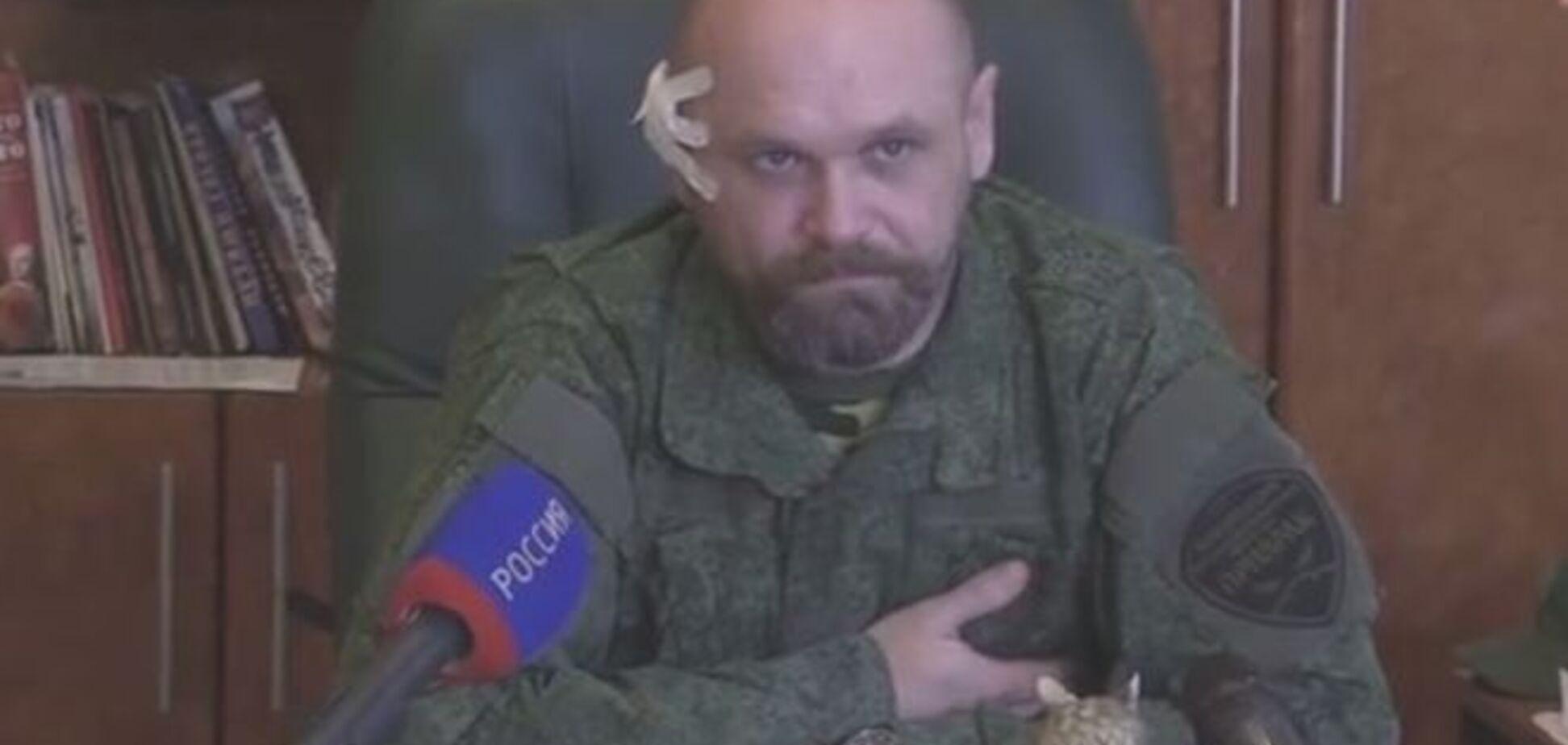 Раненый в голову Мозговой рассказал, кому из боевиков 'ЛНР' выгодна его смерть