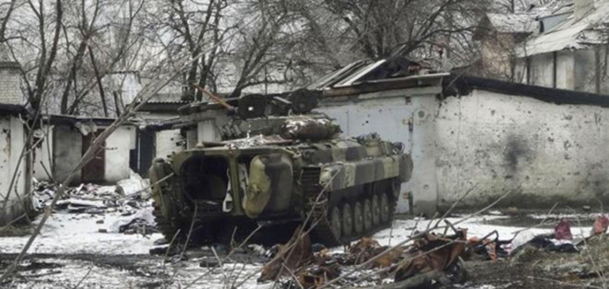 В Широкино произошло несколько боестолкновений: подбит танк террористов