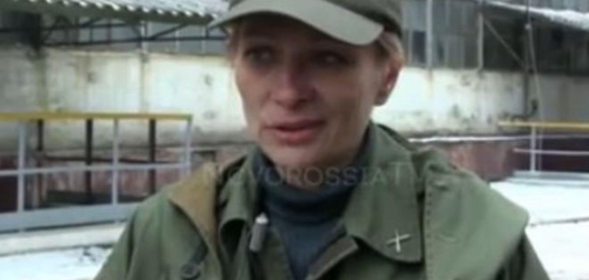 Наводчица боевиков 'ДНР' в прошлом была подполковником милиции