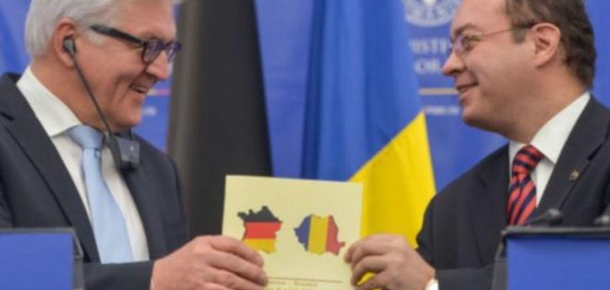 Упс! Румыния напечатала карту Франции, раскрашенную в цвета немецкого флага: фотофакт