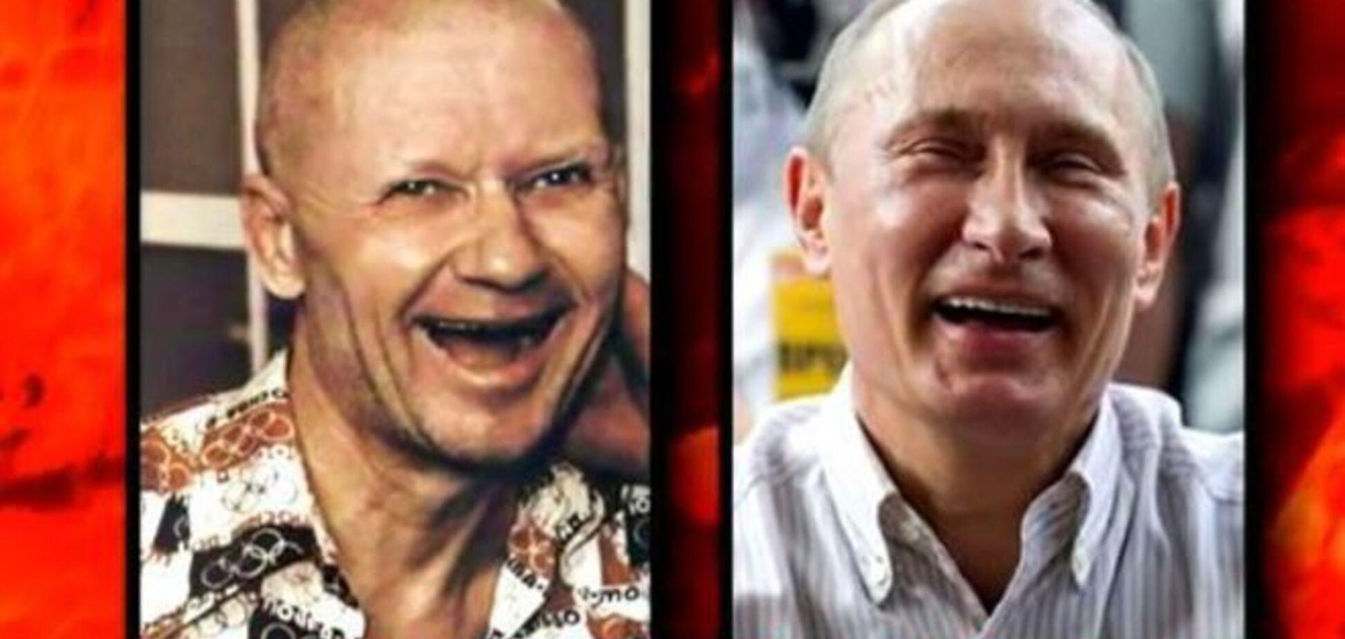 Путин vs Чикатило: соцсети взбудоражила очевидная схожесть президента с серийным маньяком