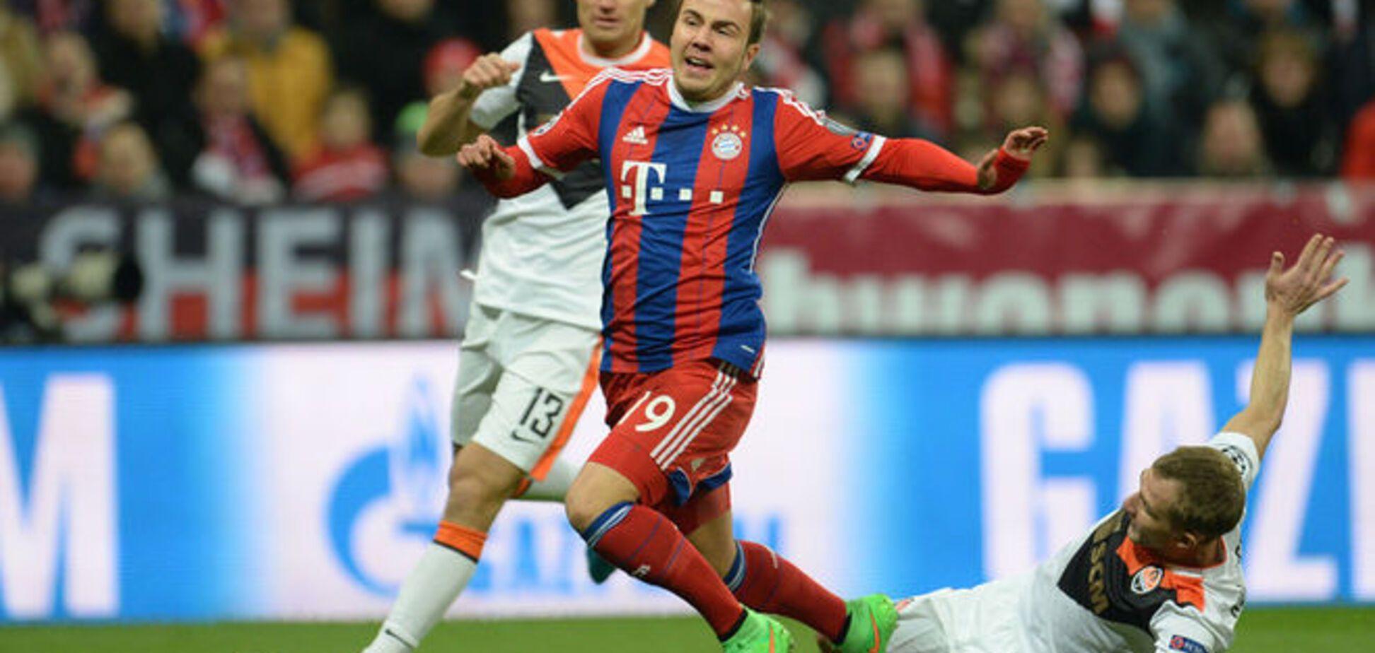 Бавария - Шахтер - 7-0: смотреть видео голов