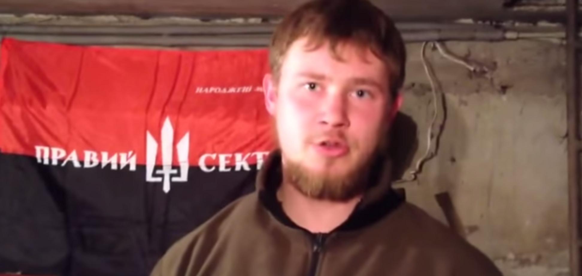 В рядах 'Правого сектора' за Украину в АТО воюют уссурийские казаки: видеофакт