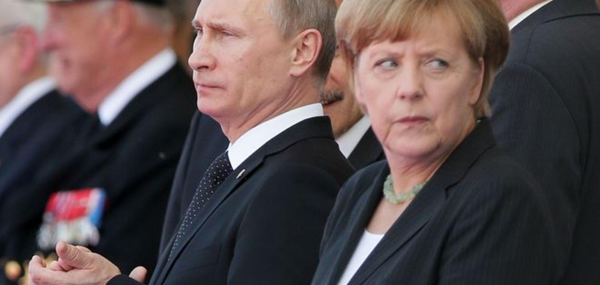 Меркель отвергла приглашение Путина на Парад Победы