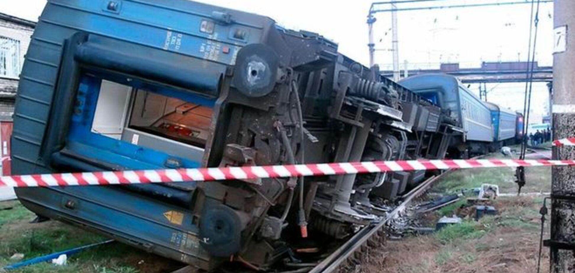На Харьковщине прогремел взрыв под пассажирским поездом