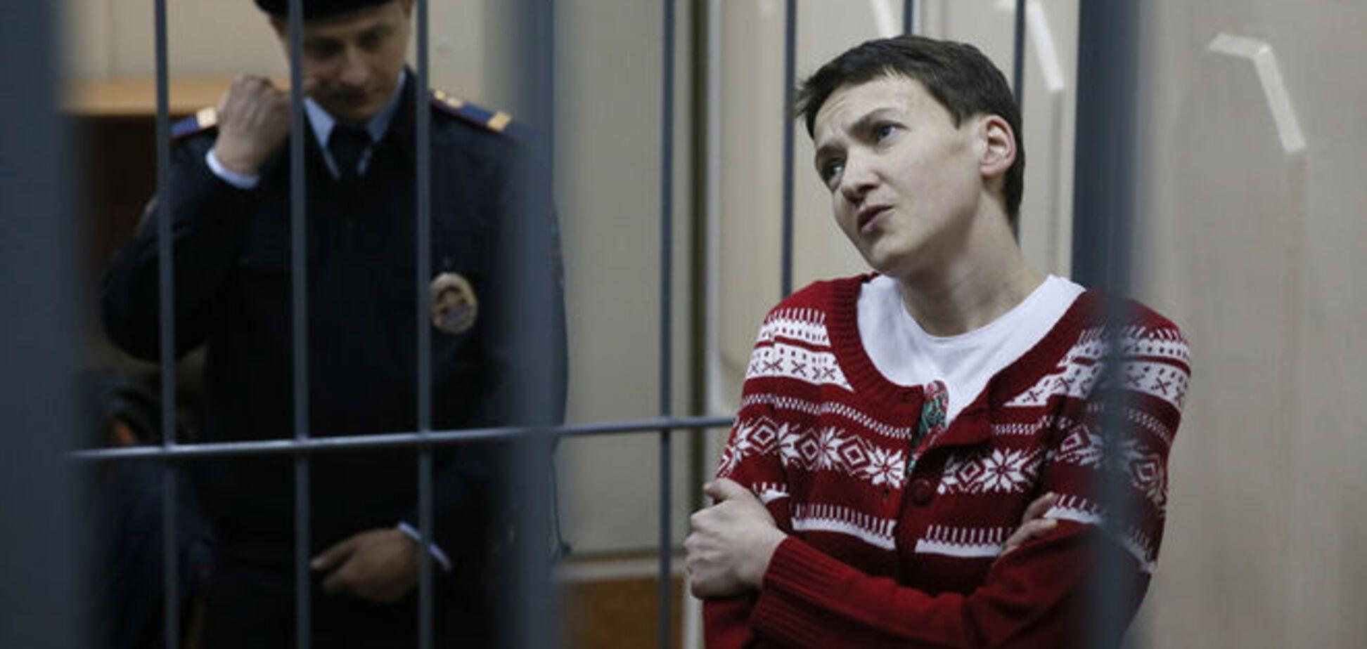 Савченко получила от адвокатов особое питание для выхода из 83-дневной голодовки