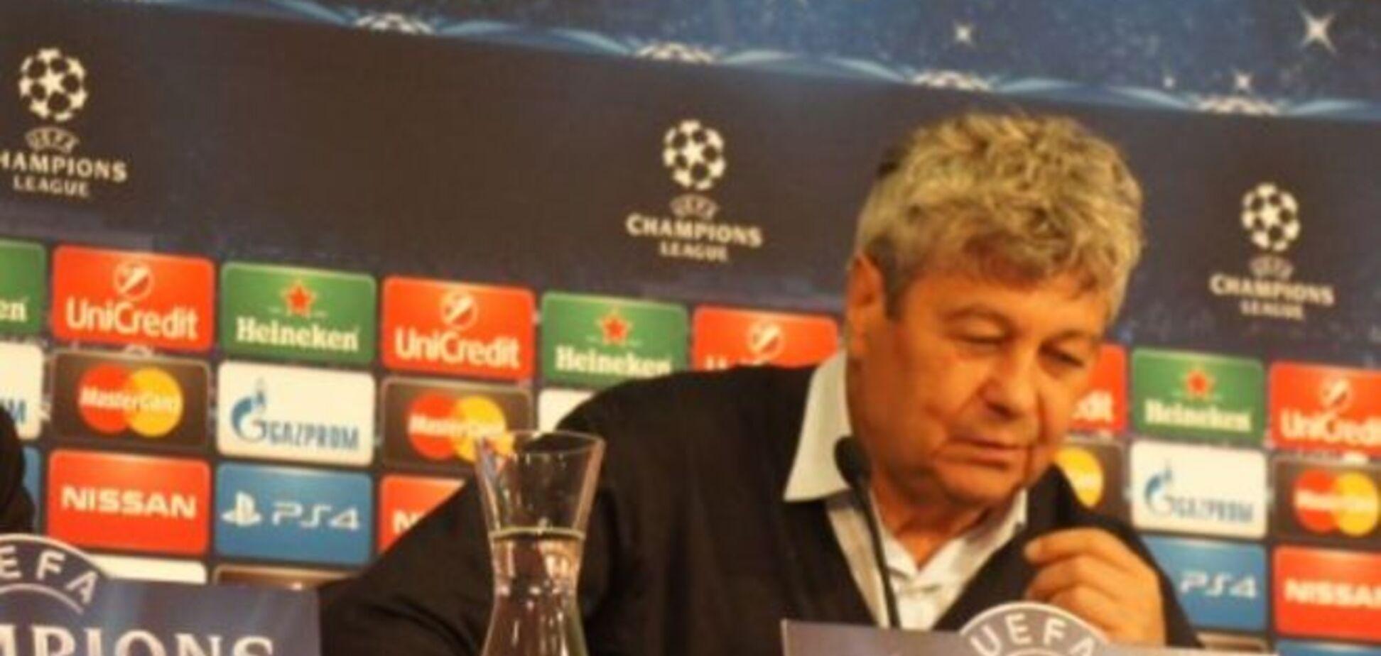 Луческу не нашел оправданий разгрому от 'Баварии' в Лиге чемпионов