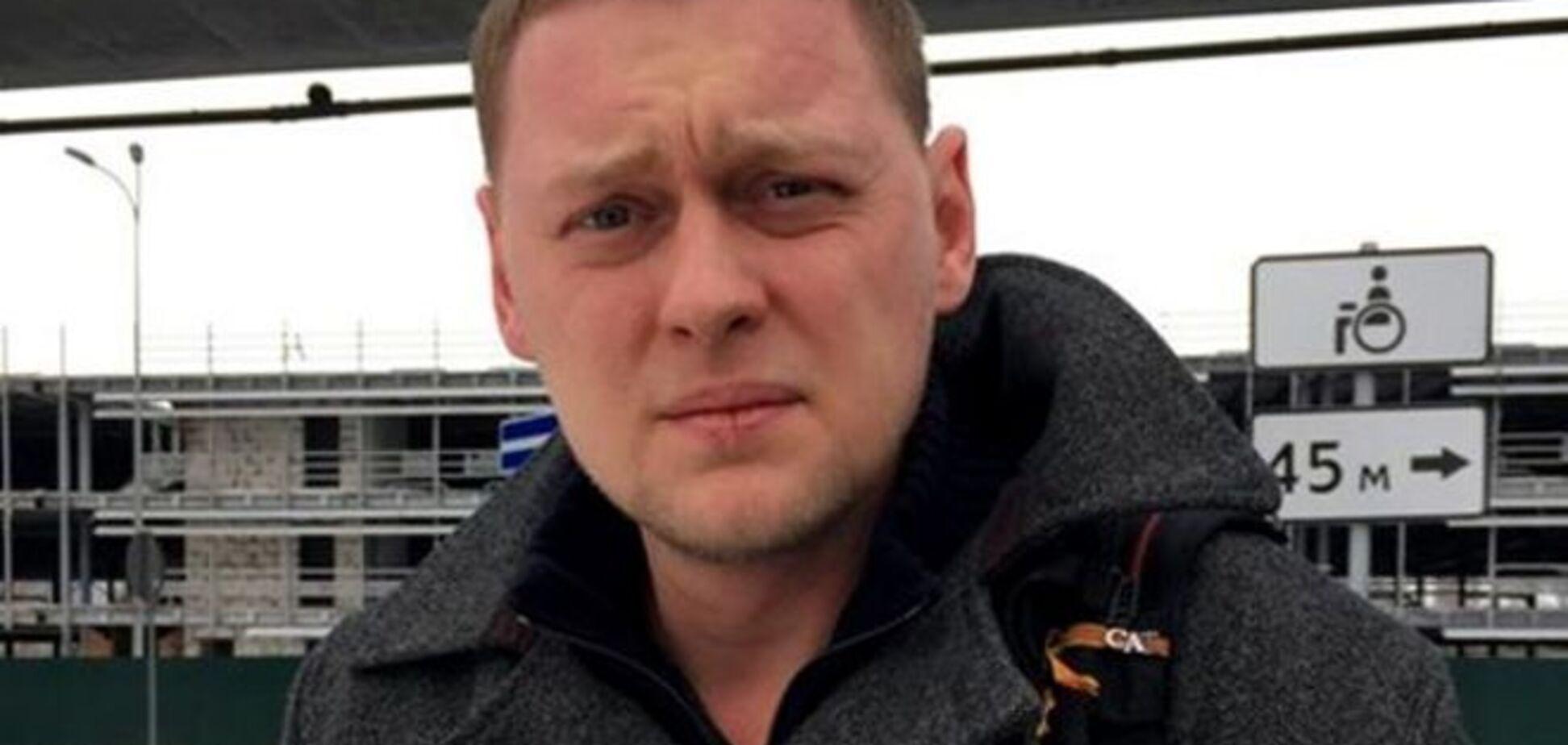 Российского журналиста, рассказывавшего о 'карателях', берут на 'Интер' - СМИ