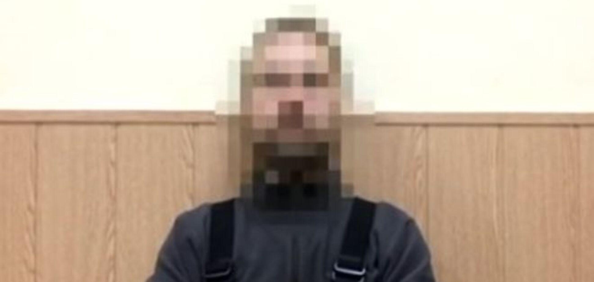 СБУ задержала организатора возможных терактов в Днепропетровске: видеофакт