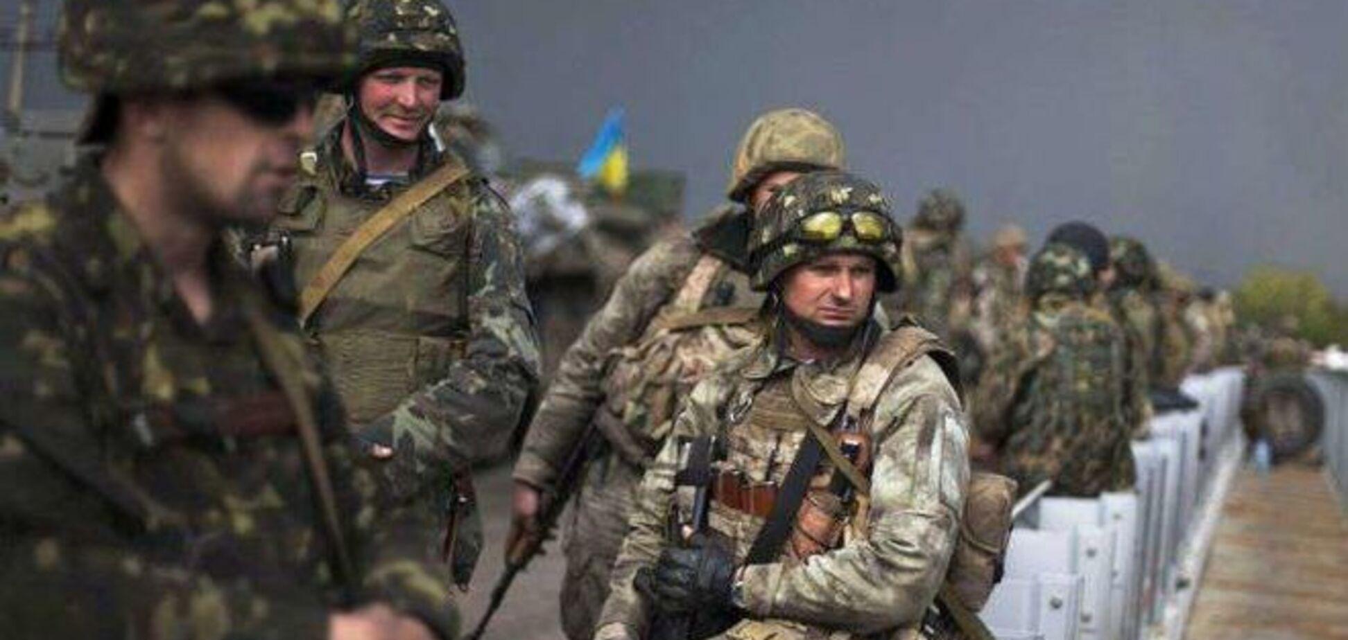 Бойцы АТО получили первые премии за уничтоженную технику террористов