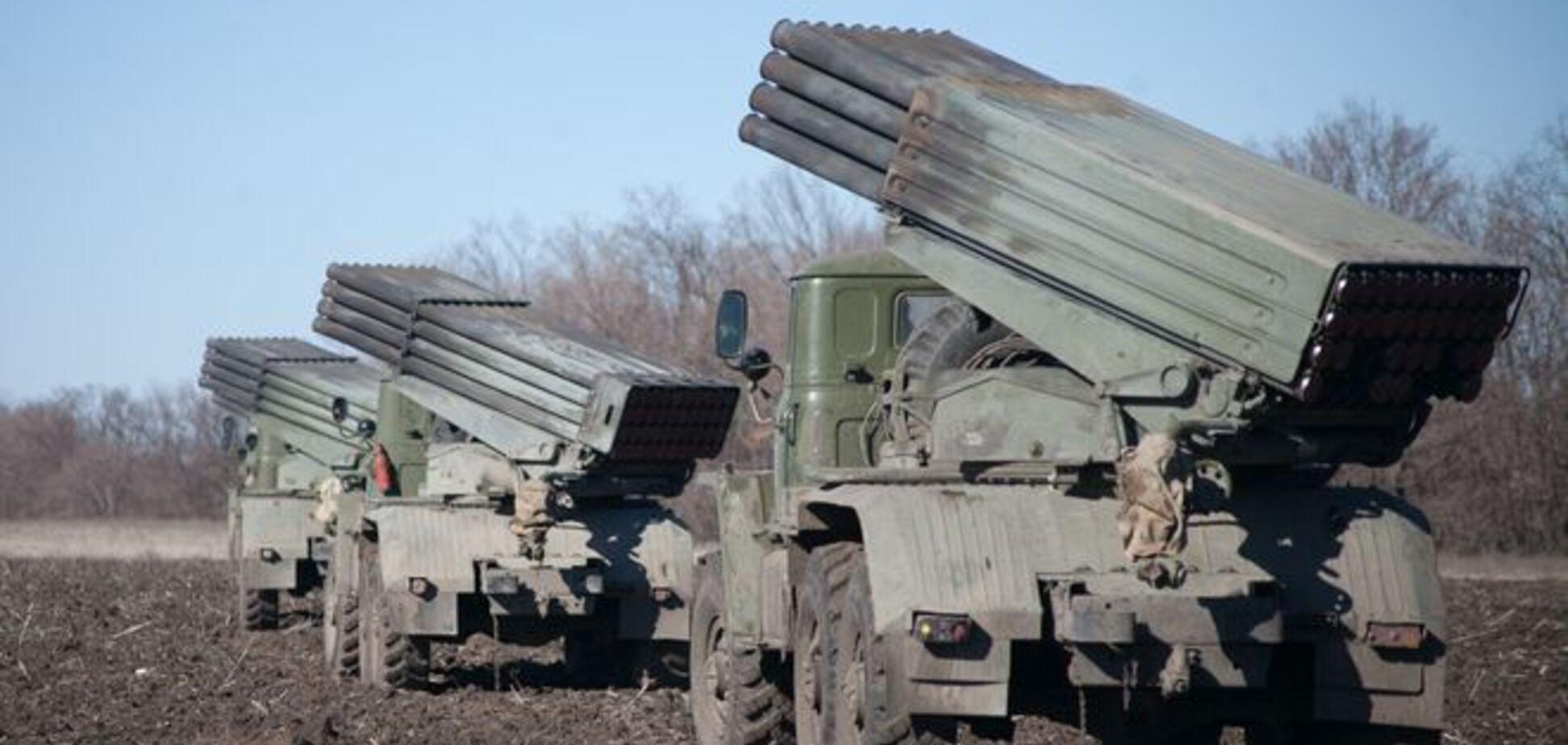 Опубликованы точные координаты размещения 'отведенной' техники террористов 'ЛНР'