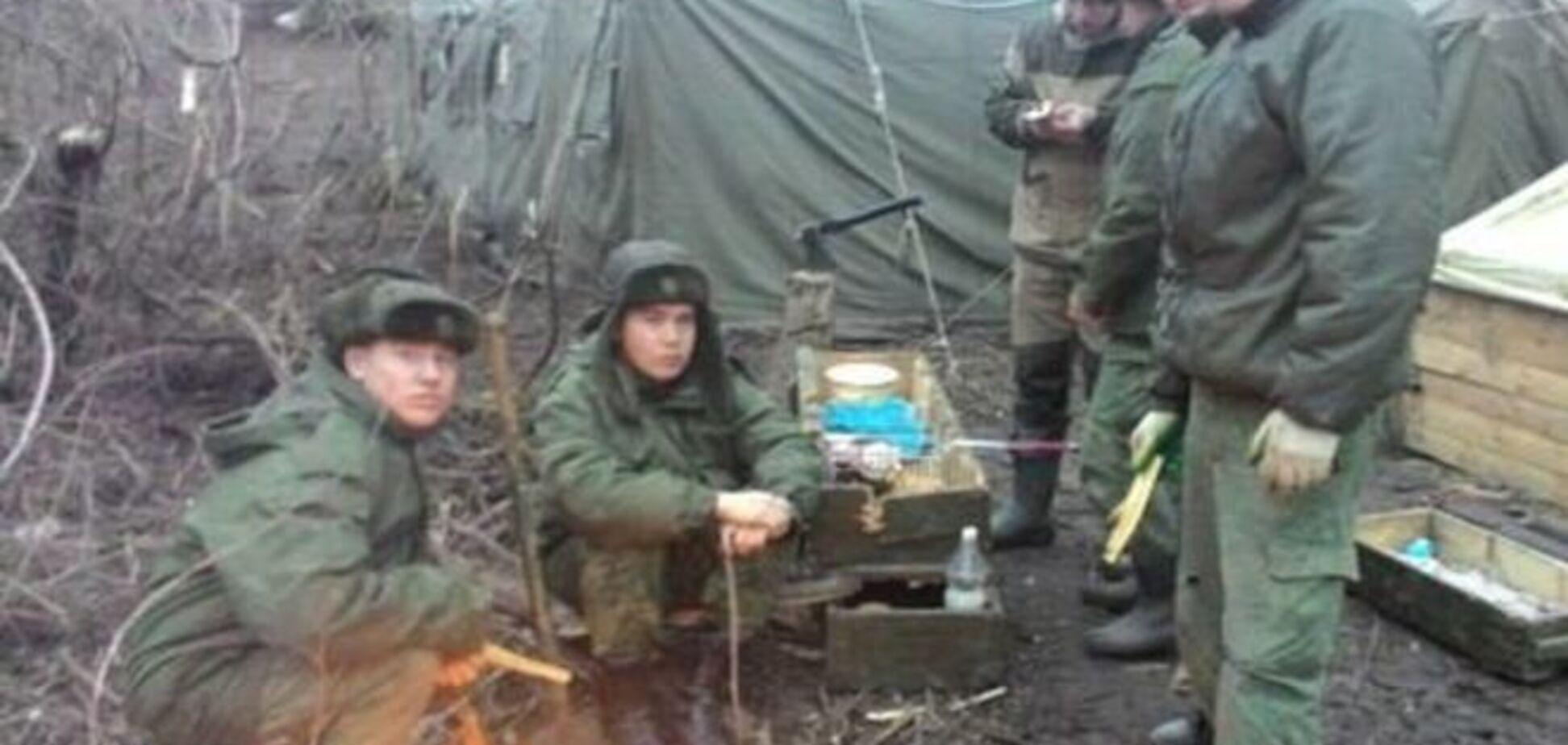 На границе Украины 'потерялись' российские артиллеристы: опубликованы фотодоказательства