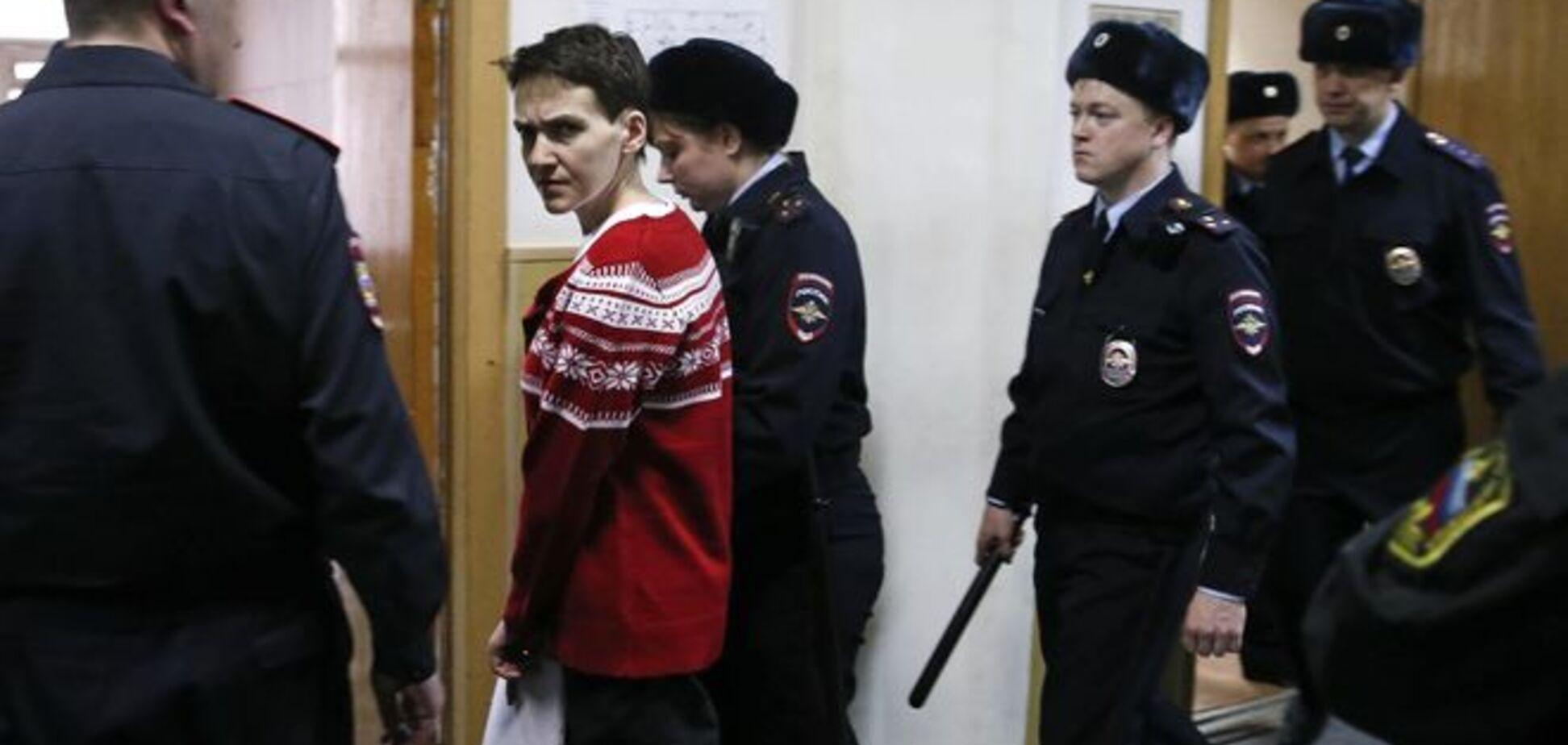 Кремль разрешил украинским врачам осмотреть Савченко, но ее состояние очень плохое