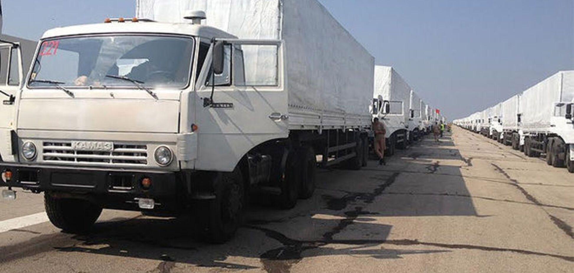 Россия отправляет на Донбасс два внеплановых 'гумконвоя'
