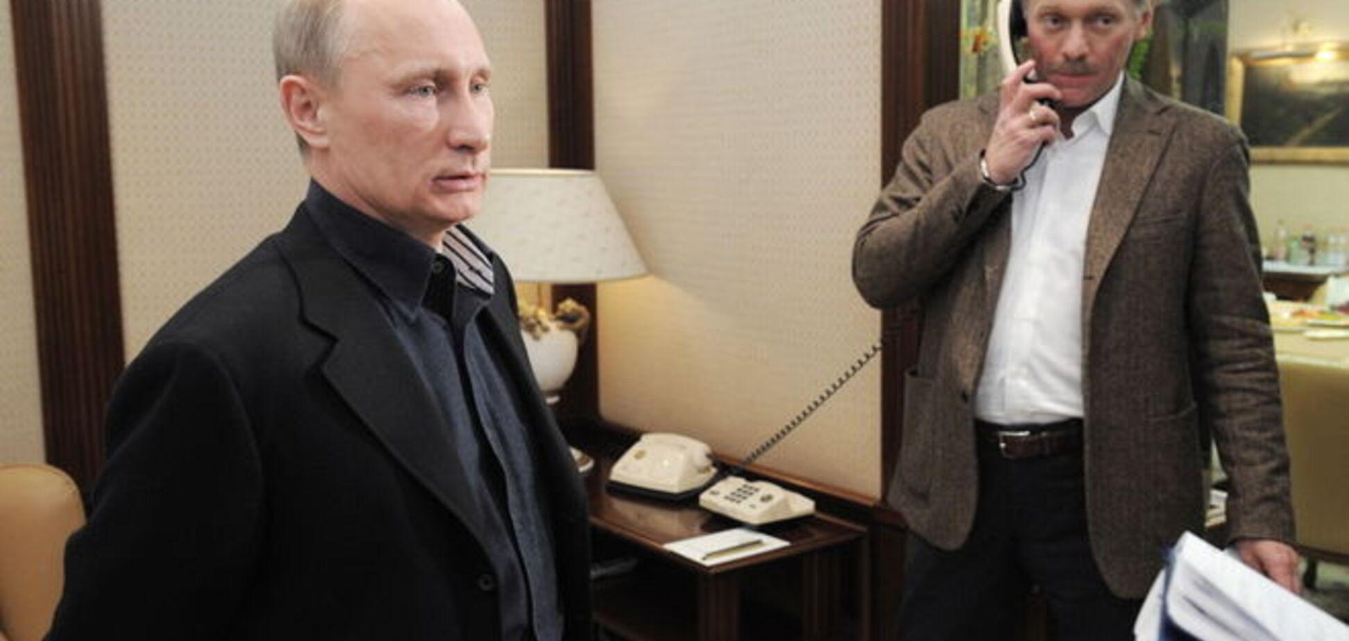 Песков уточнил, когда Путин появится на публике