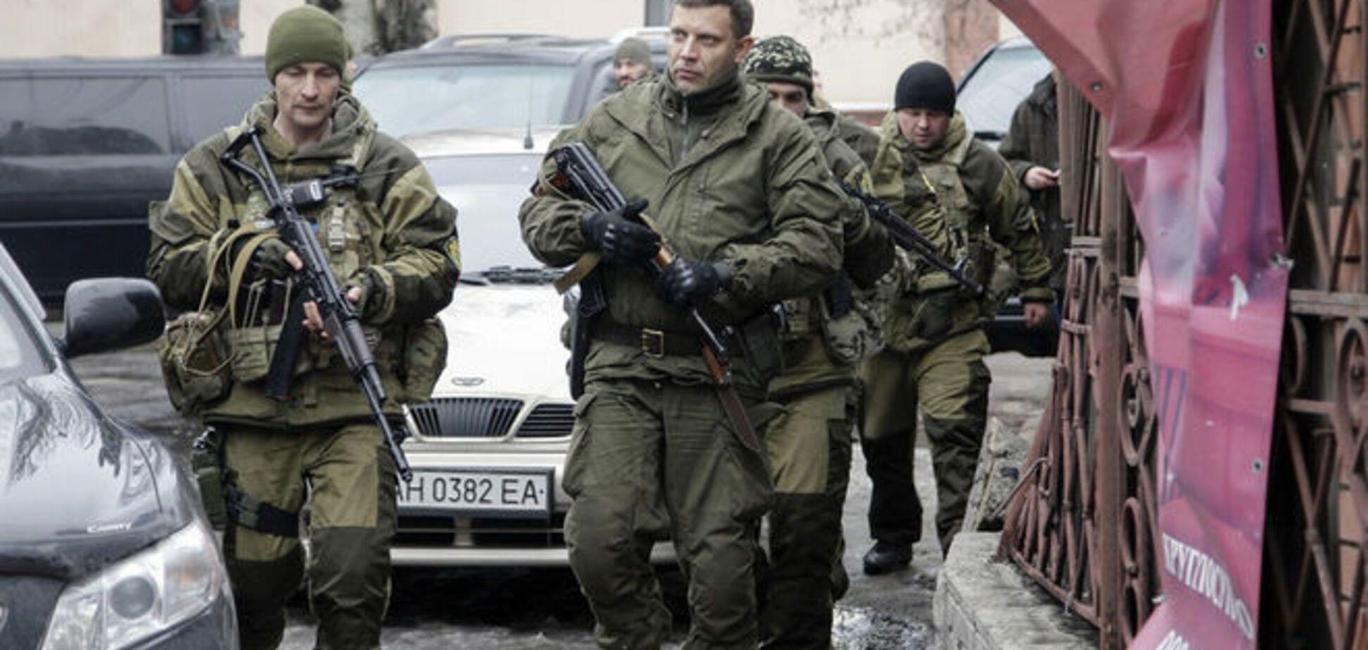 Главарь 'ДНР' признал, что силы АТО соблюдают перемирие