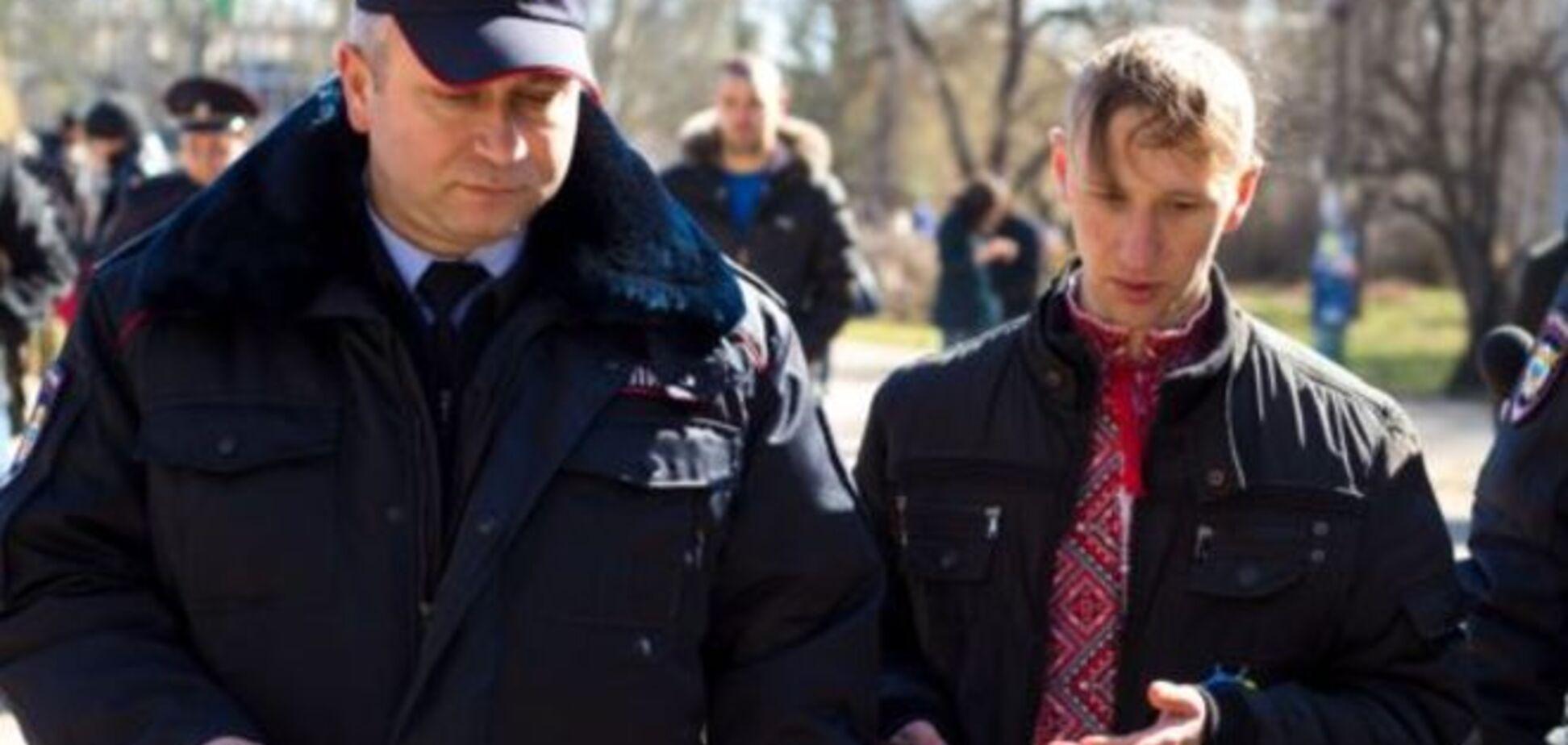 Задержанных в Крыму проукраинских активистов отпустили