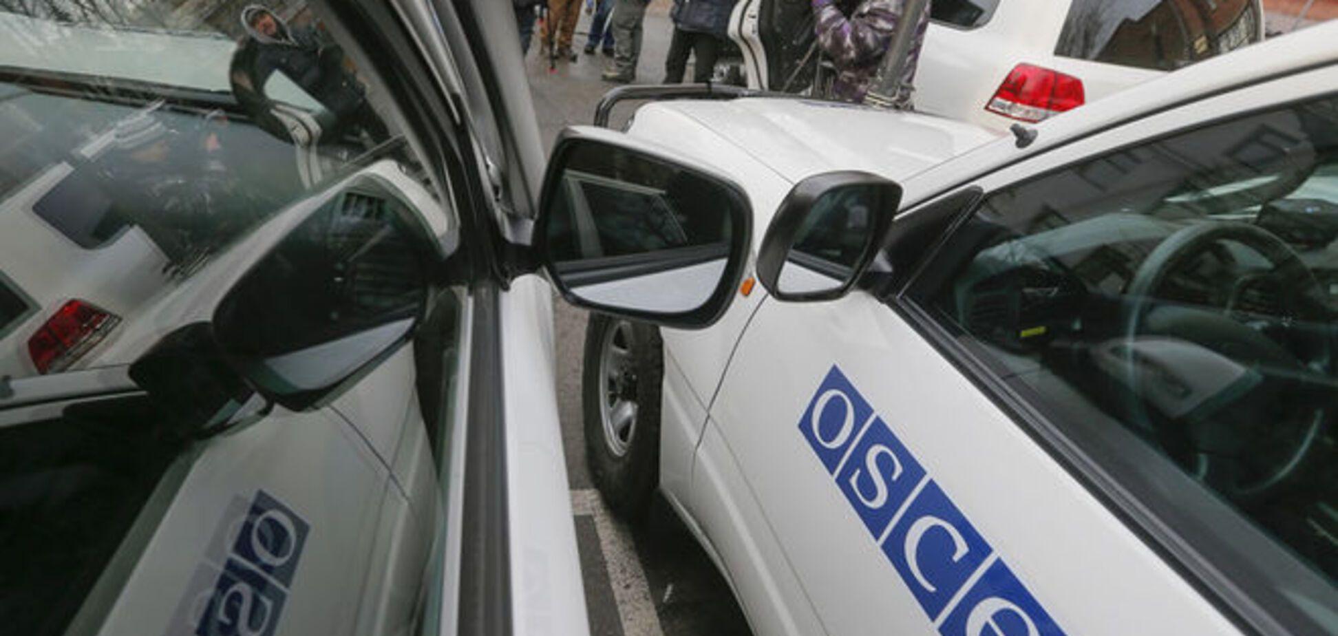 Боевики 'ЛНР' не пустили наблюдателей ОБСЕ к хранилищам оружия