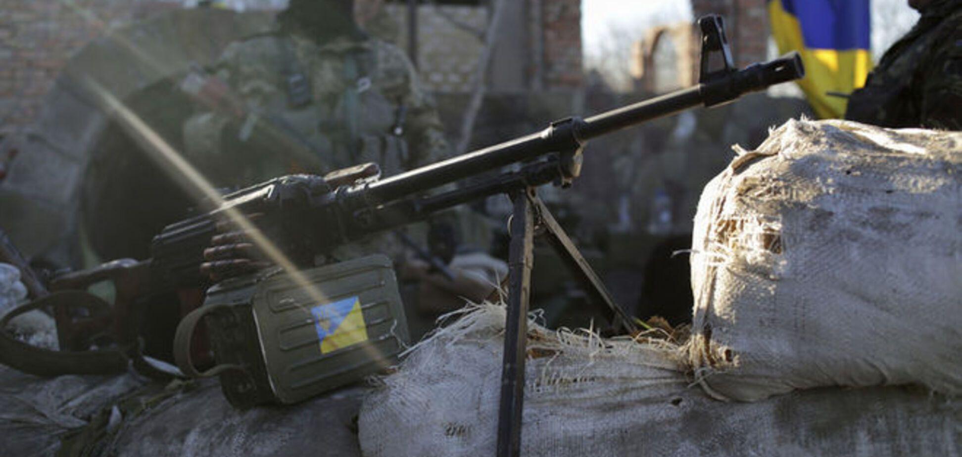 Позиции сил АТО близ Песок обстреляли из минометов