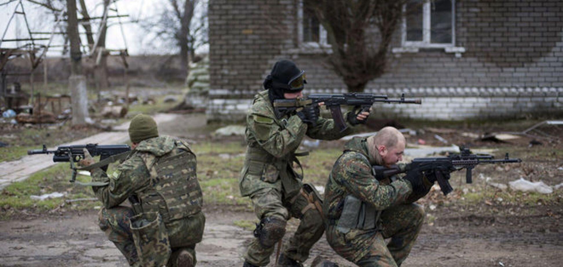 'Азов' трижды за сутки отбивал атаки террористов в Широкино, есть раненые