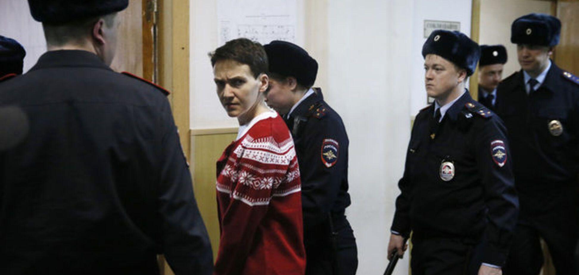 Медики определили сроки выхода Савченко из голодовки