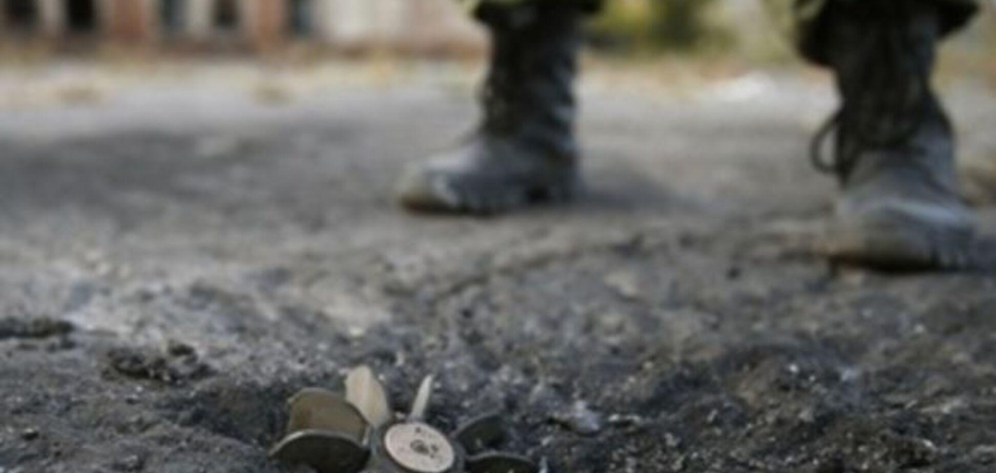 Под Станицей Луганской на фугасе подорвался боец АТО