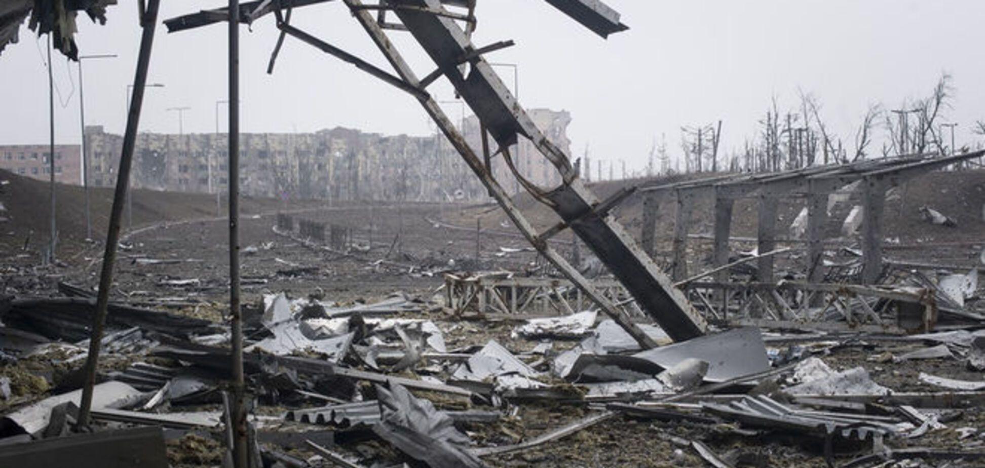 Под завалами донецкого аэропорта находят тела 'киборгов' - ОБСЕ