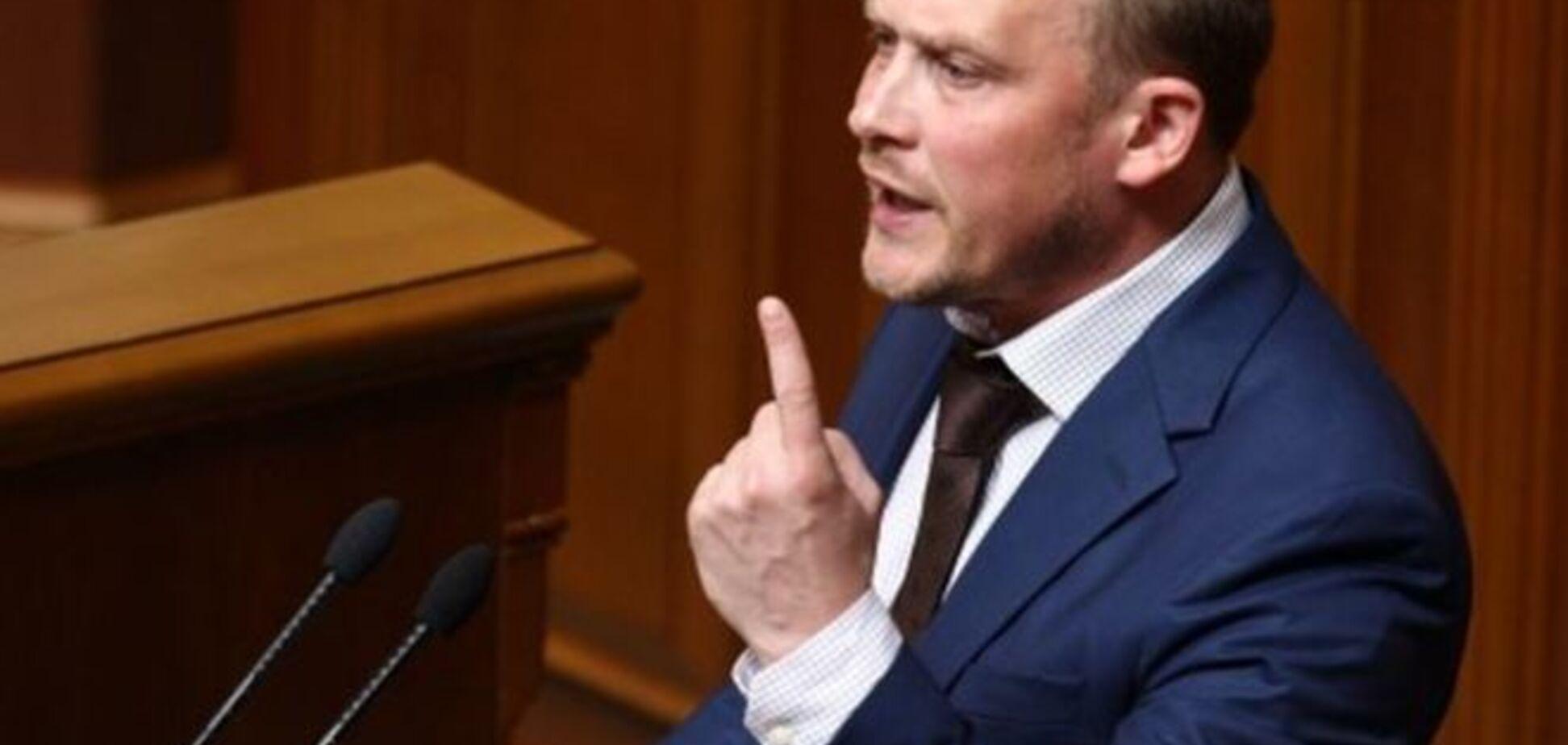 Каплин: Пашинский угрожал мне расправой за критику Яценюка