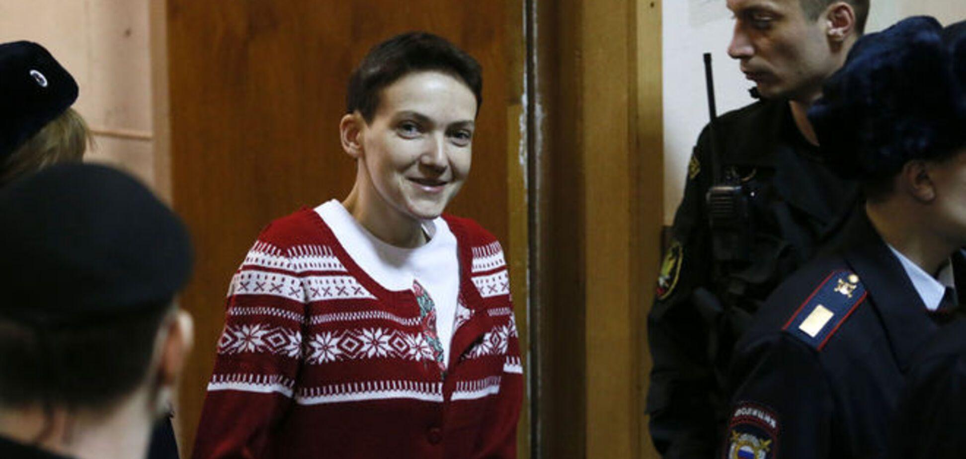 Украинские медики просят российских коллег присмотреть за выходом Савченко из голодовки