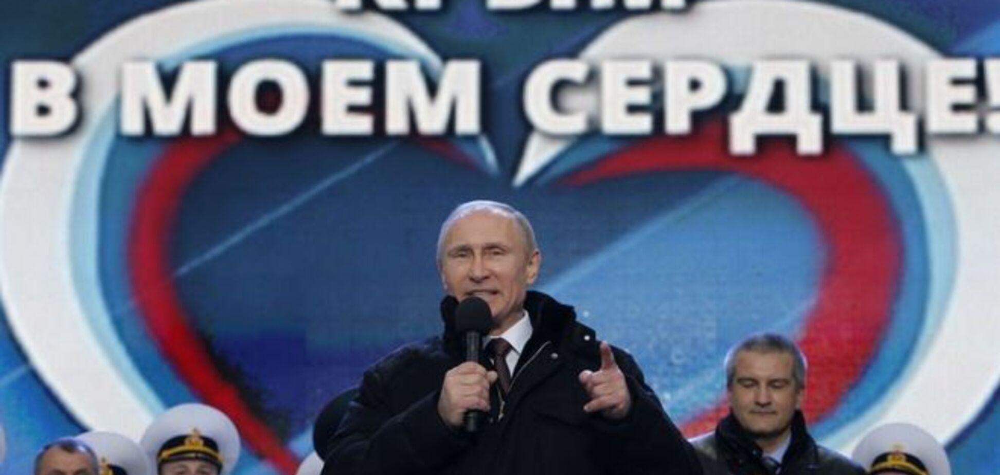 Путин в фильме рассказал, как российские солдаты захватили Крым