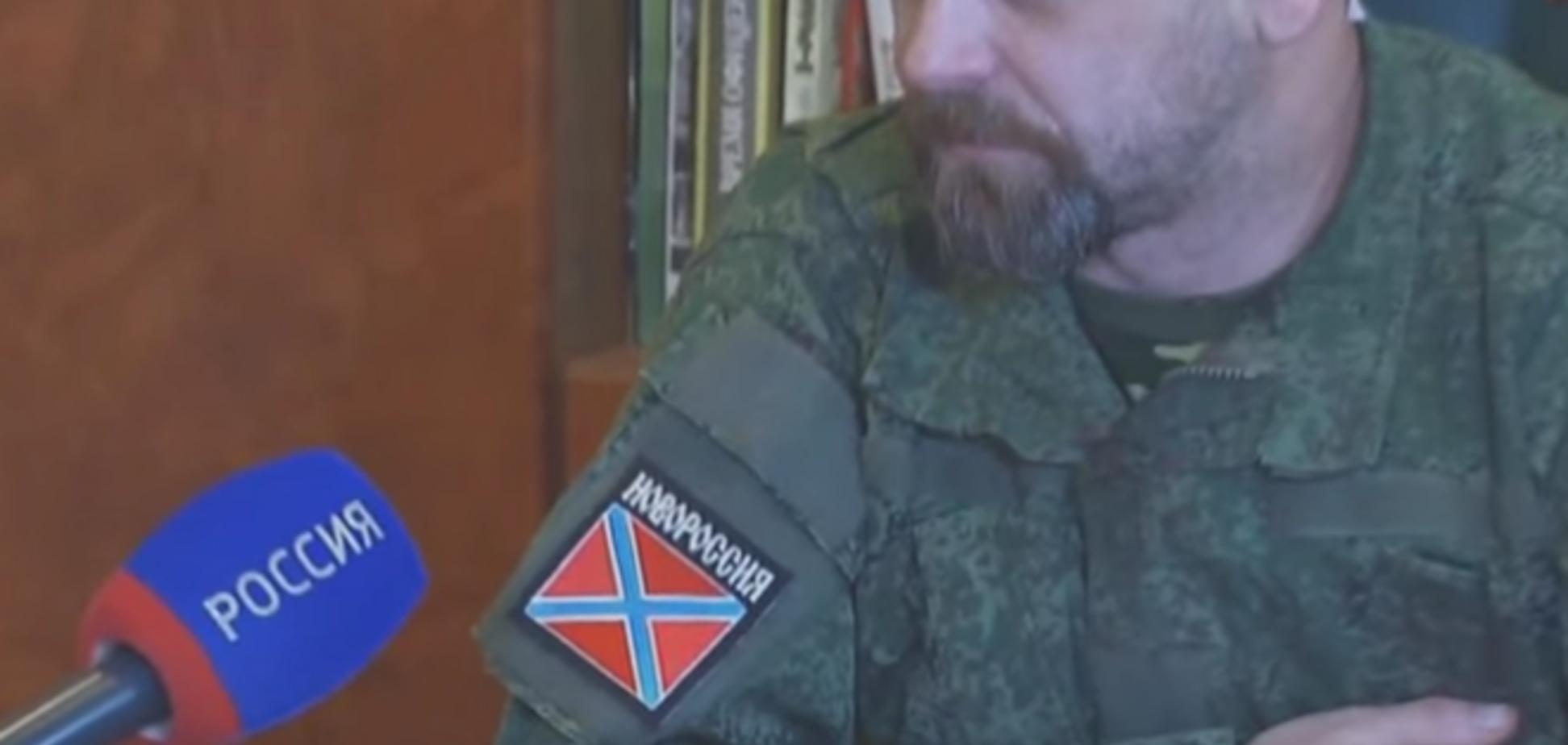 'Чистый бизнес': главарь боевиков 'ЛНР' Мозговой признал, что 'фашизма' в Украине нет -видеофакт