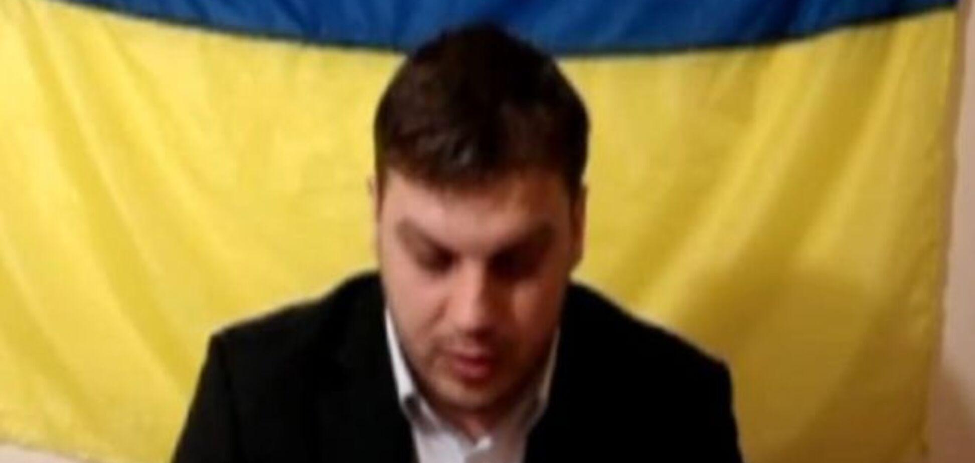 Чиновник из Днепропетровска рассказал, кому отводил землю за 'крышу': видеозапись