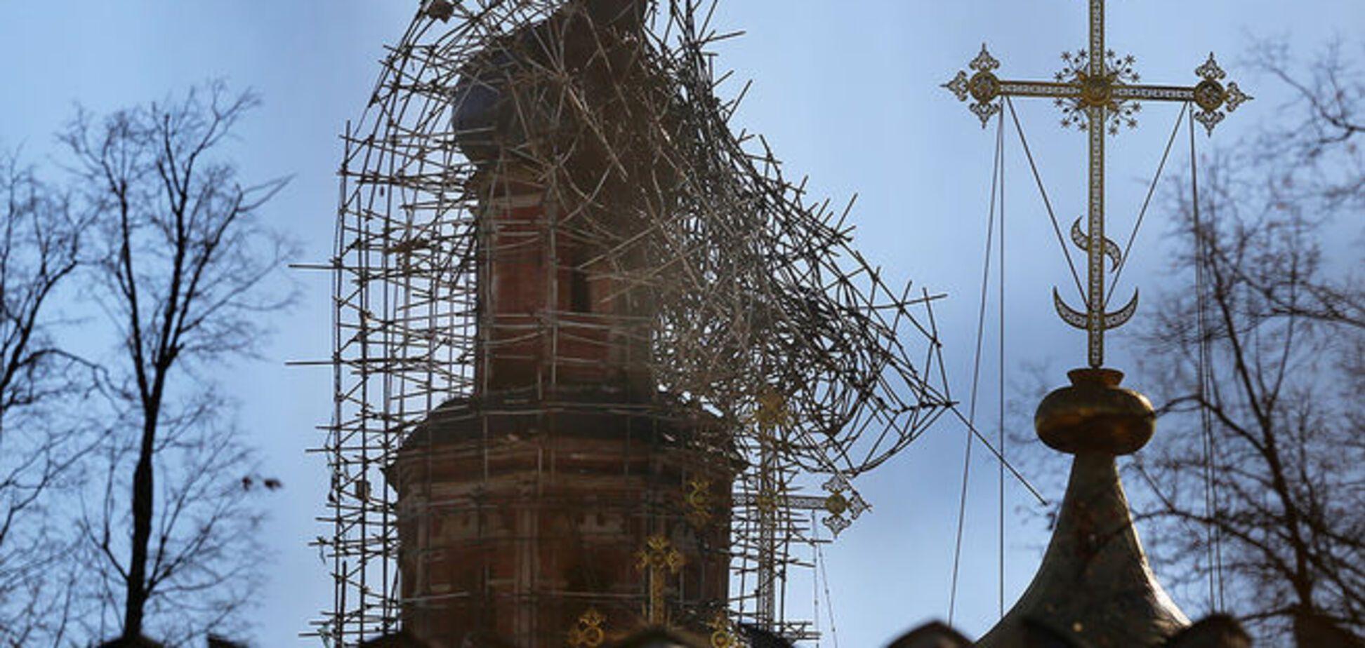 Опубликованы фото Новодевичьего монастыря после пожара