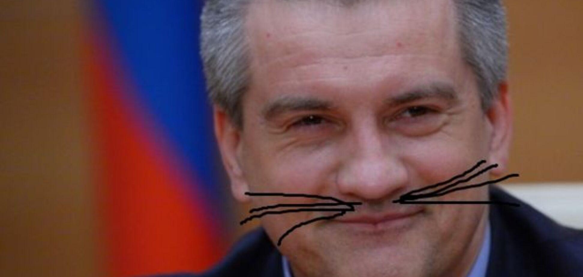 Где логика? Аксенов с 'усами и хвостом' посоветовал ГПУ тренироваться на кошках