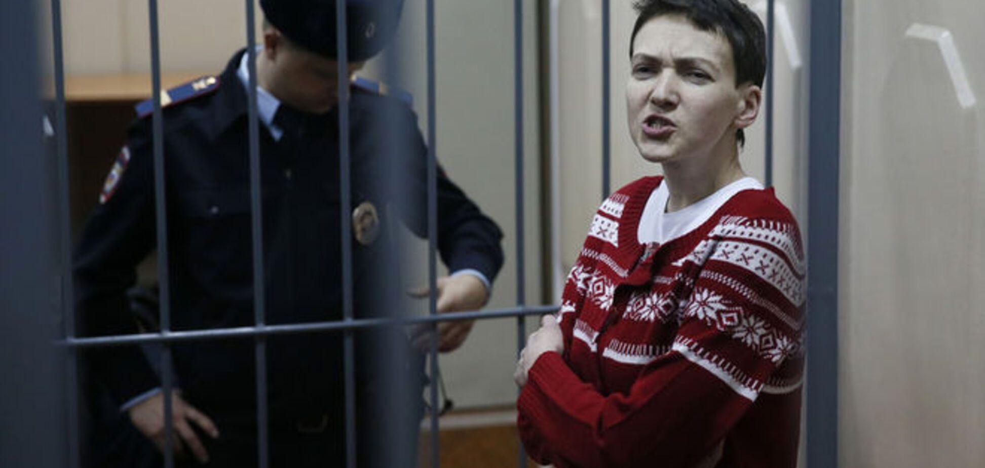 Савченко возобновила голодовку в московской тюрьме