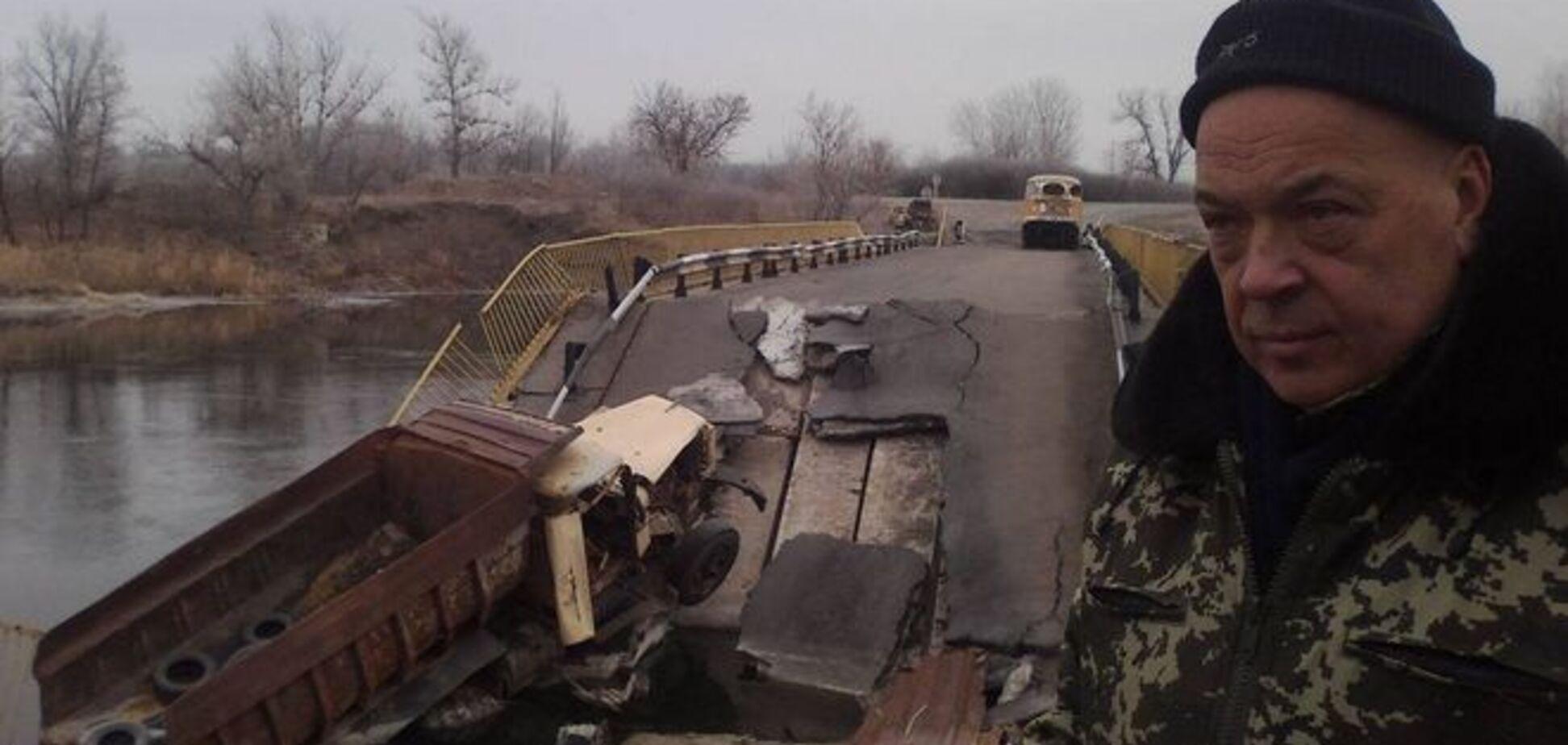 Боевики строят опорный пункт на подконтрольной Украине территории