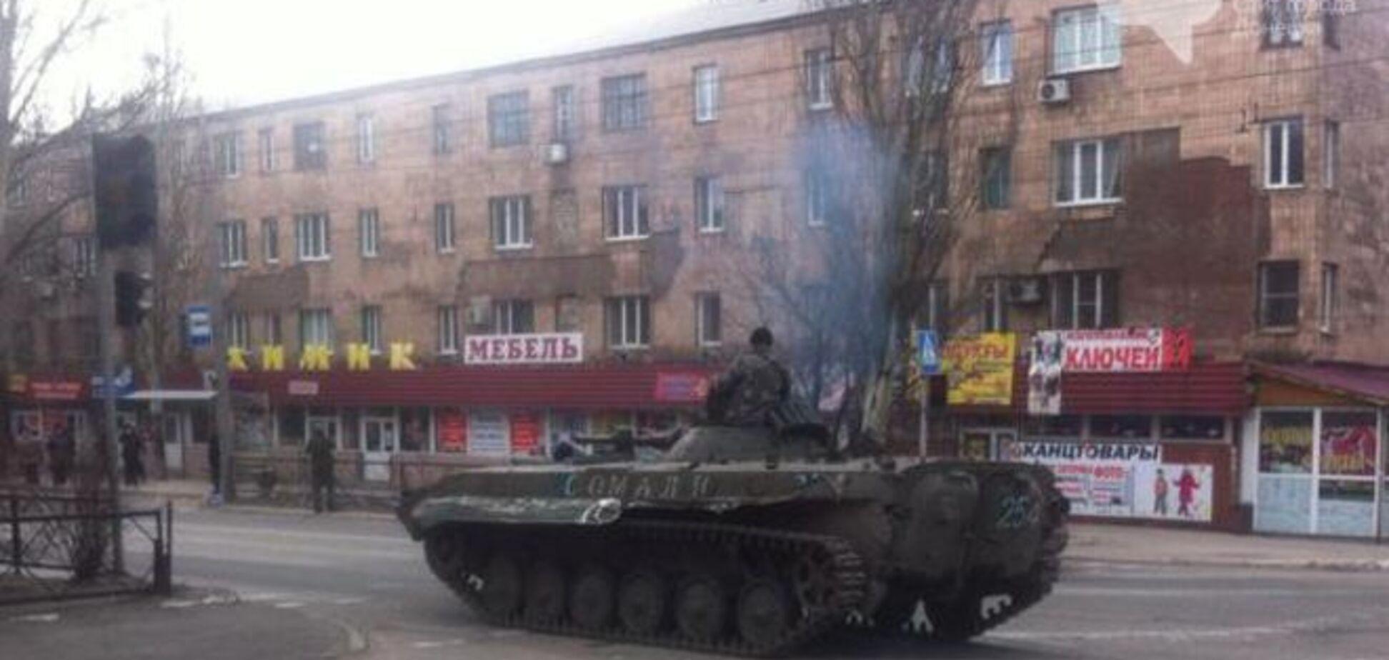 Боевики 'ДНР' проводят 'спецоперацию' в центре Макеевки