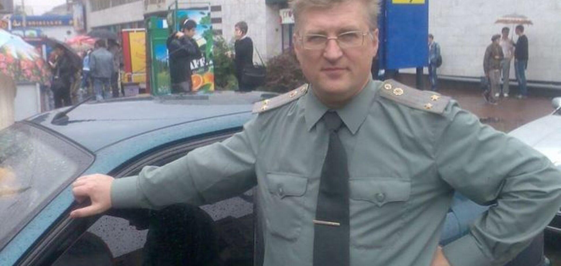 В Киеве пьяный подполковник ударил водителя - соцсети