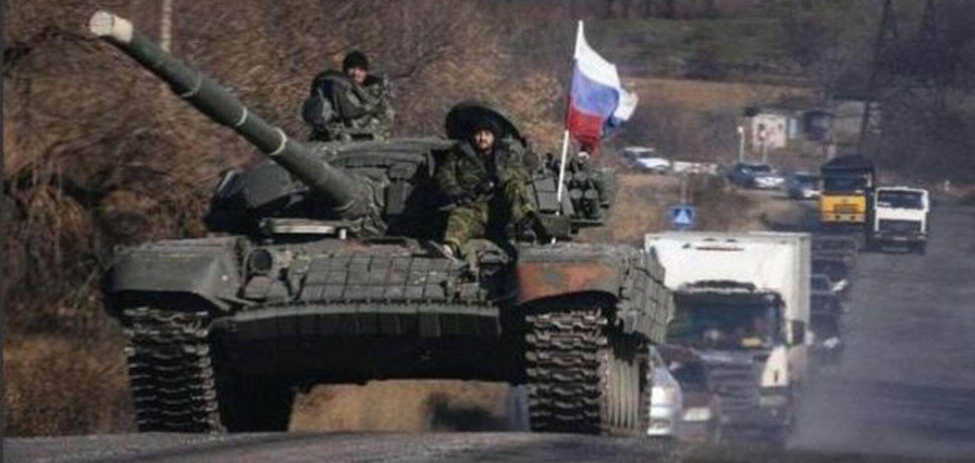 В Дебальцево перегнали 40 вагонов с военной техникой из России