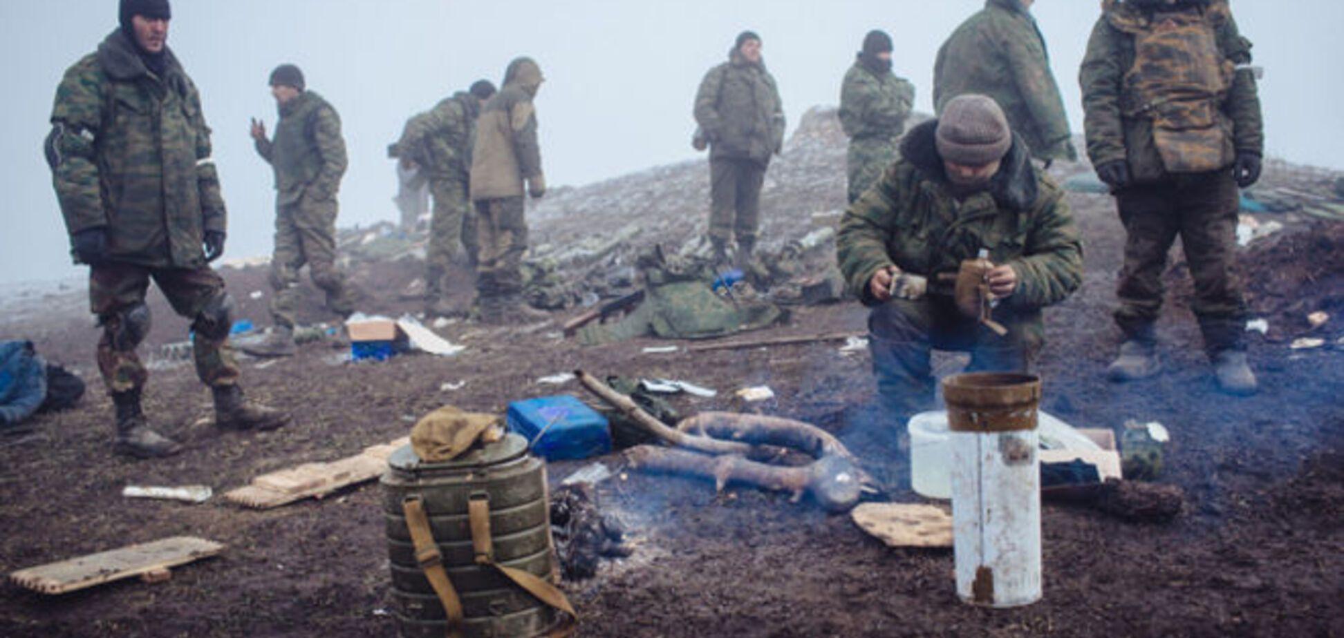 Взвод боевиков перешел Северский Донецк и вторгся на позиции воинов АТО