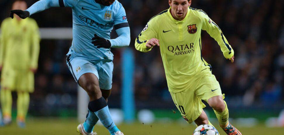 Барселона - Манчестер Сити - 1-0: хронология матча