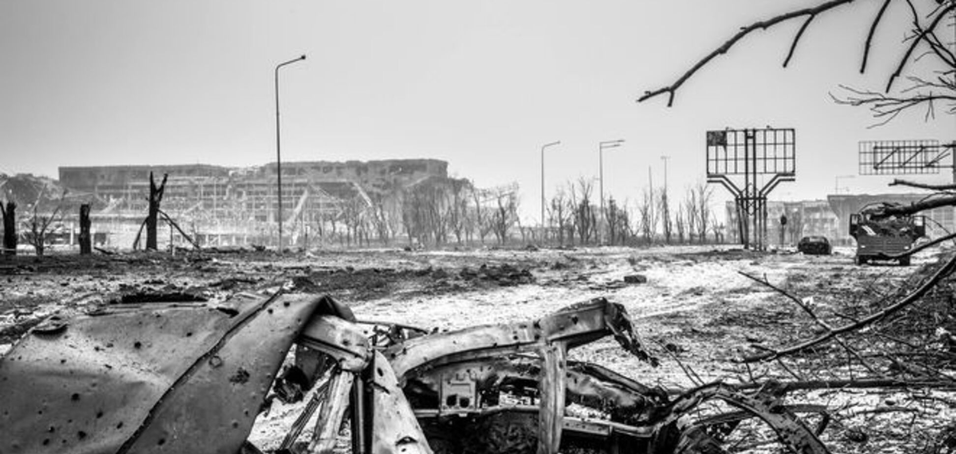 ОБСЕ зафиксировала в районе донецкого аэропорта применение тяжелой артиллерии