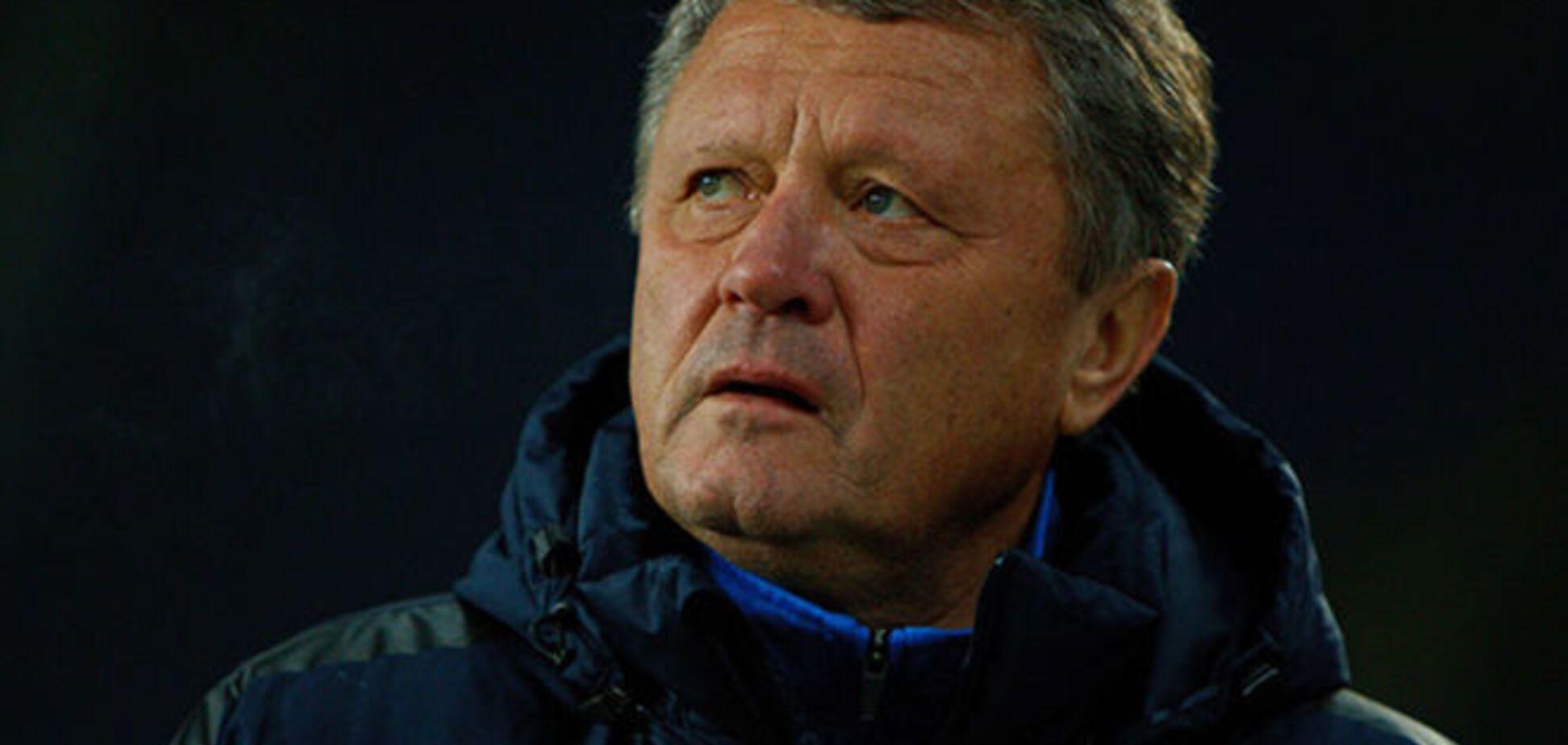 'Днепр' остался без главного тренера накануне битвы в Лиге Европы