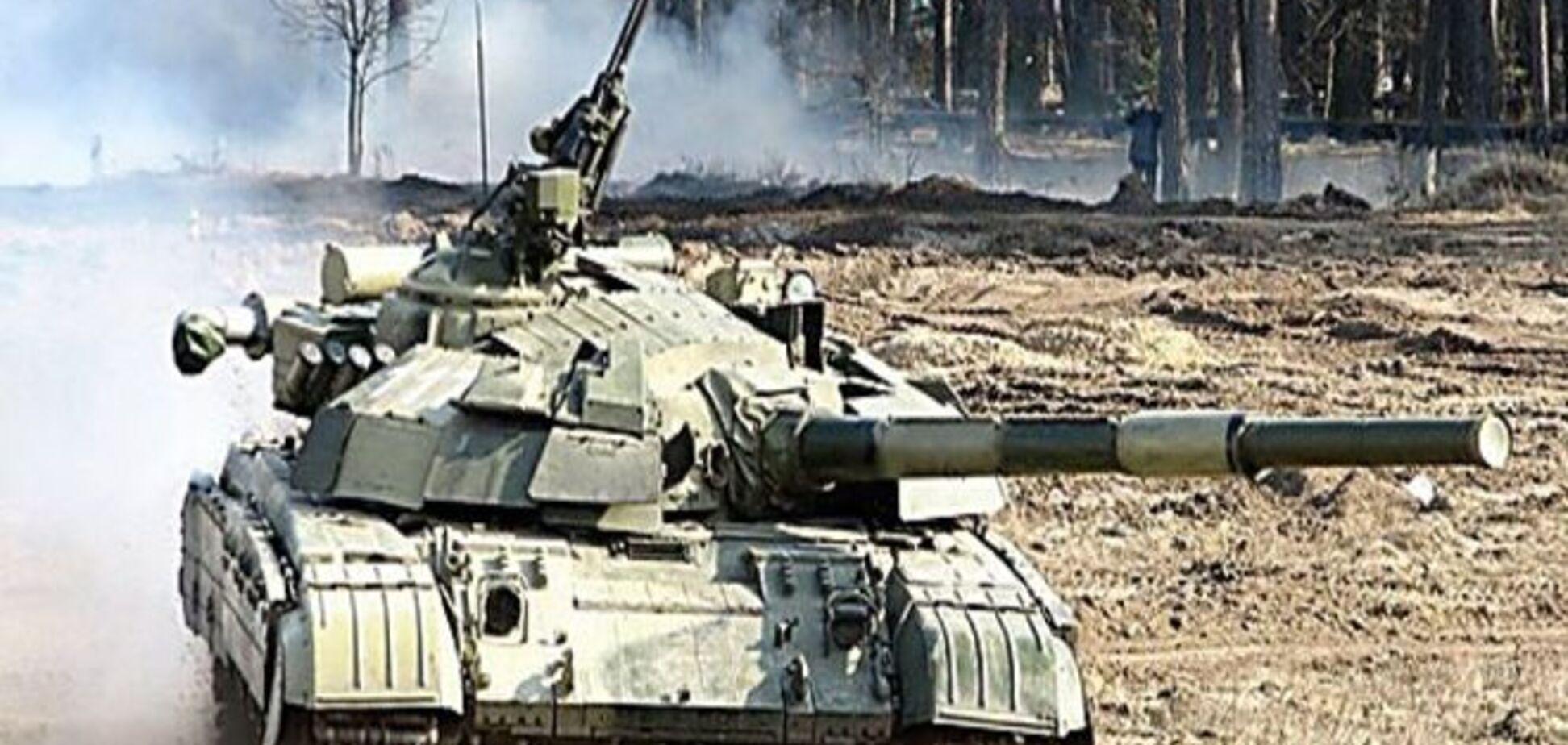 Бойцы АТО получили по 6 тыс. грн за захват вражеского танка