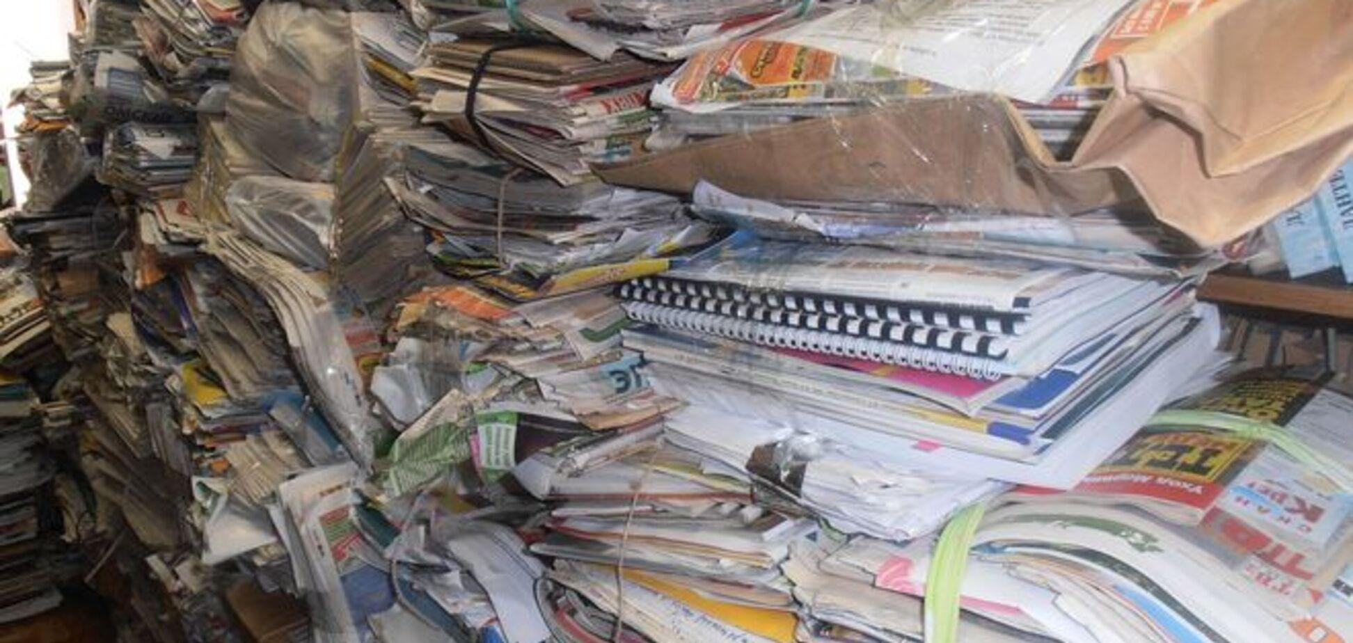 В Тернополе похитили и сдали на макулатуру 40-тысячный тираж отчета нардепа о его работе