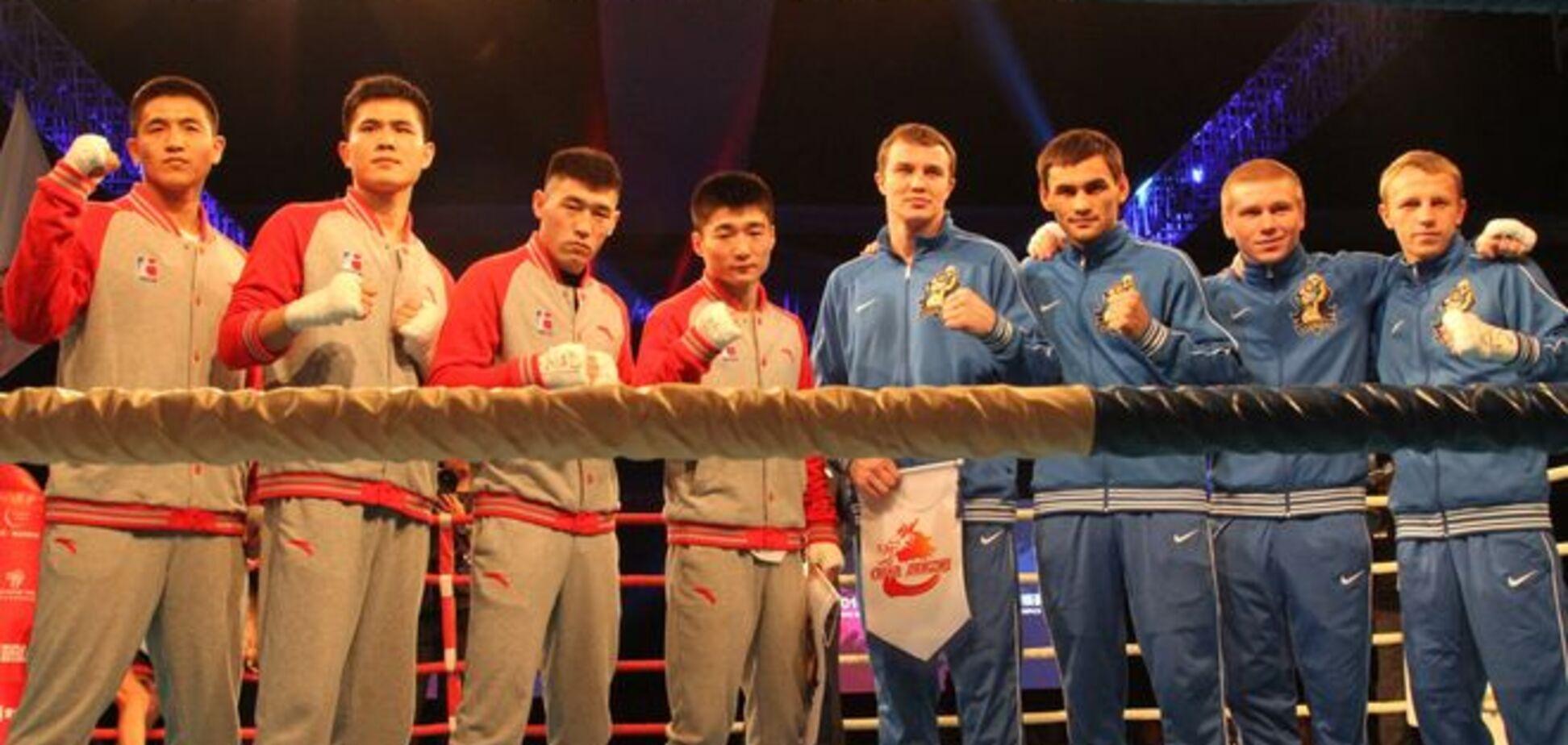 Українські отамани - Китайські дракони: дивитися онлайн відеотрансляцію матчу