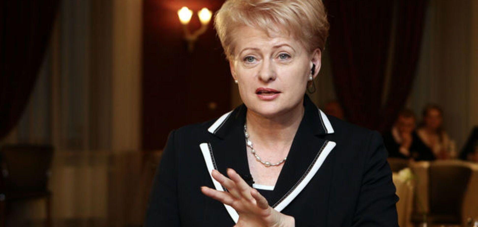 Калининградские 'Искандеры' могут нанести удар по столицам ЕС – Грибаускайте