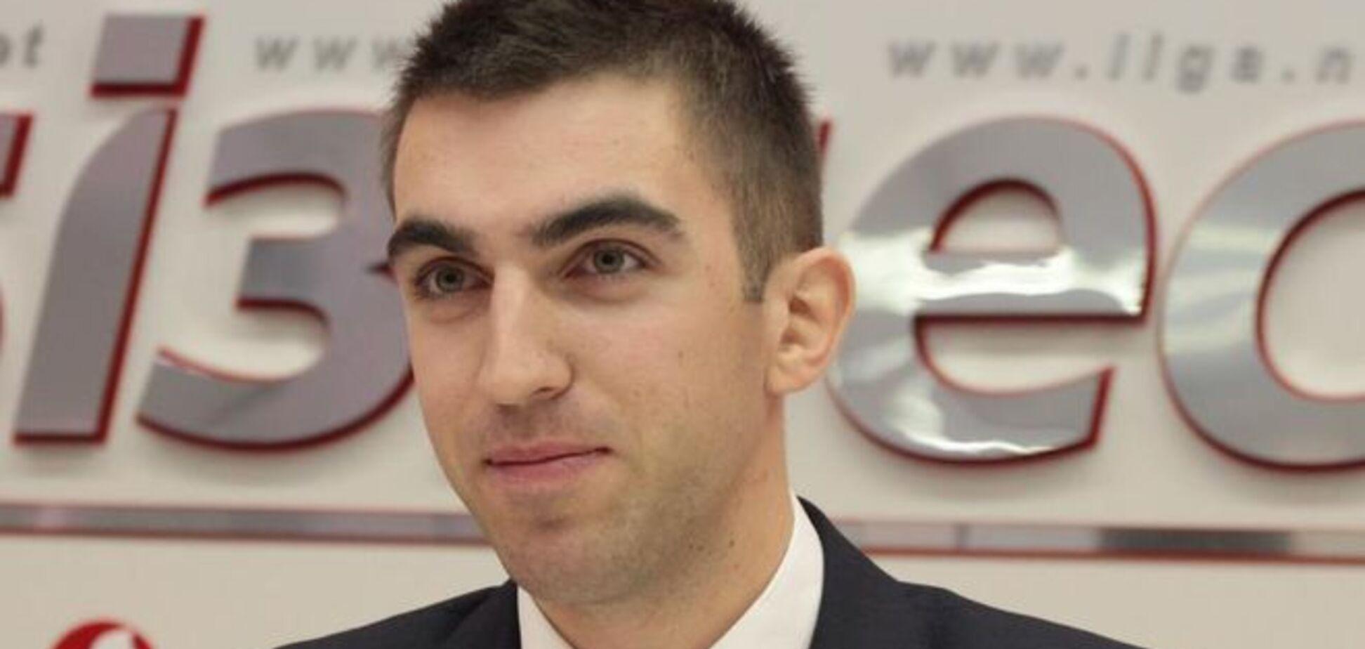 Сын Пашинского отказался отвечать, служил ли он в зоне АТО: видеофакт